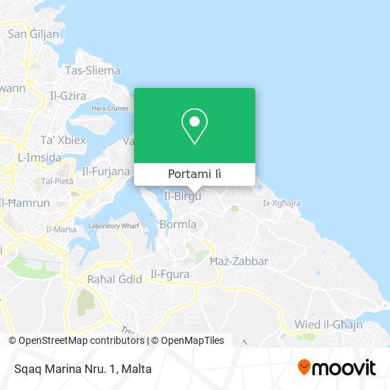 Mappa Sqaq Marina Nru. 1