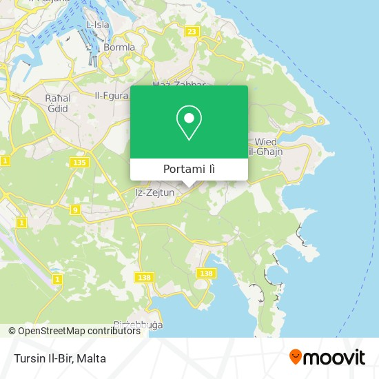 Mappa Tursin Il-Bir