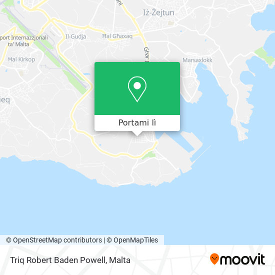 Mappa Triq Robert Baden Powell