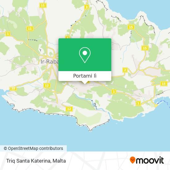 Mappa Triq Santa Katerina