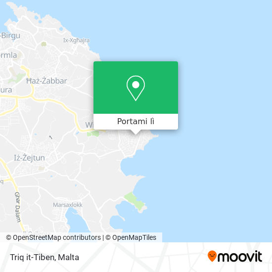 Mappa Triq it-Tiben