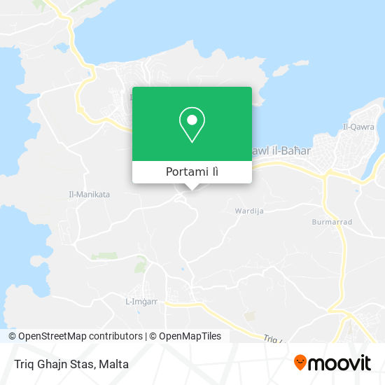Mappa Triq Ghajn Stas