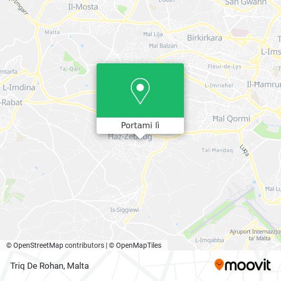 Mappa Triq De Rohan