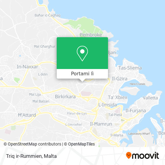 Mappa Triq ir-Rummien