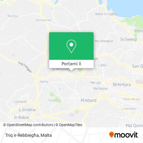 Mappa Triq ir-Rebbiegħa
