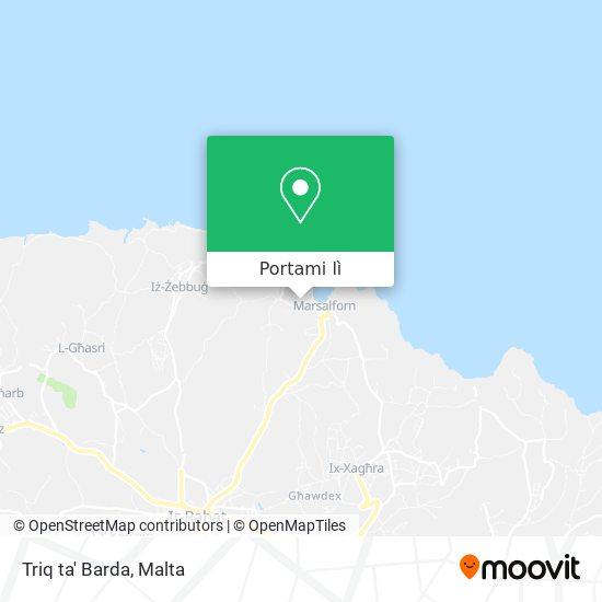 Mappa Triq ta' Barda