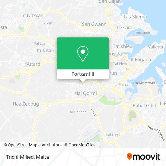 Mappa Triq il-Milied