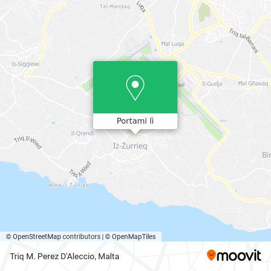 Mappa Triq M. Perez D'Aleccio