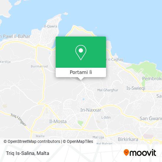 Mappa Triq Is-Salina