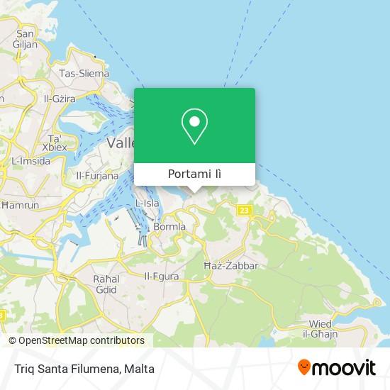 Mappa Triq Santa Filumena