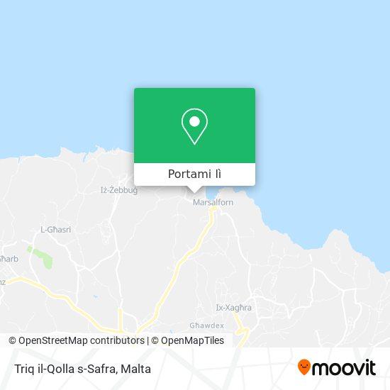 Mappa Triq il-Qolla s-Safra