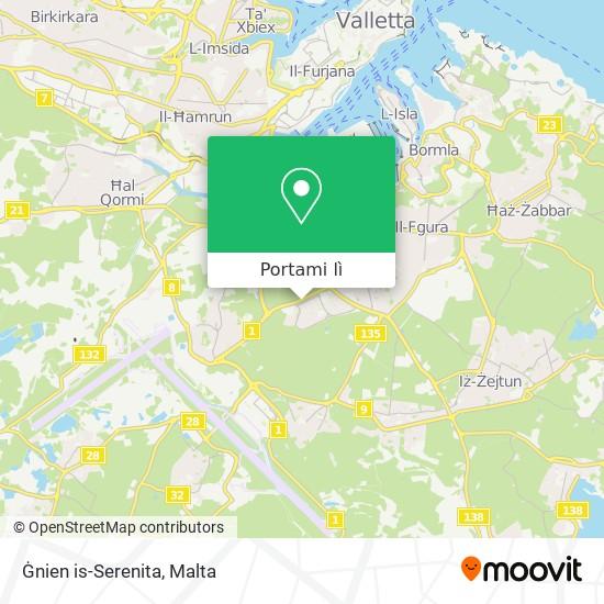 Mappa Ġnien is-Serenita