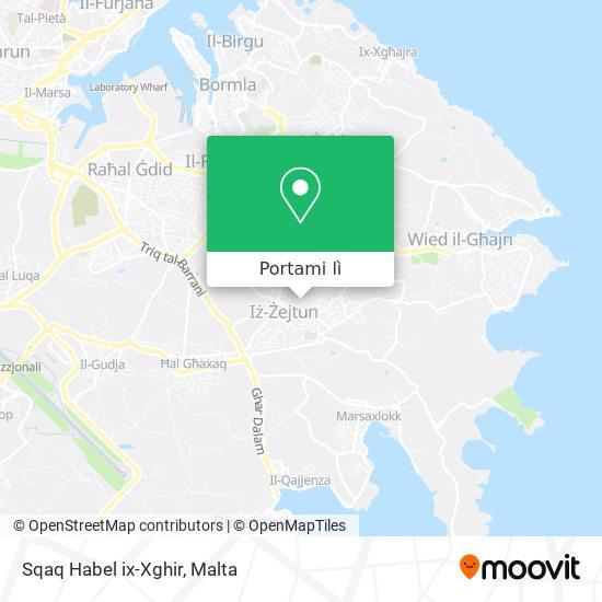 Mappa Sqaq Habel ix-Xghir
