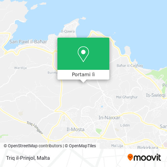 Mappa Triq il-Prinjol