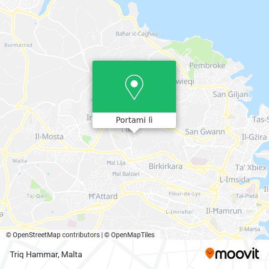 Mappa Triq Hammar