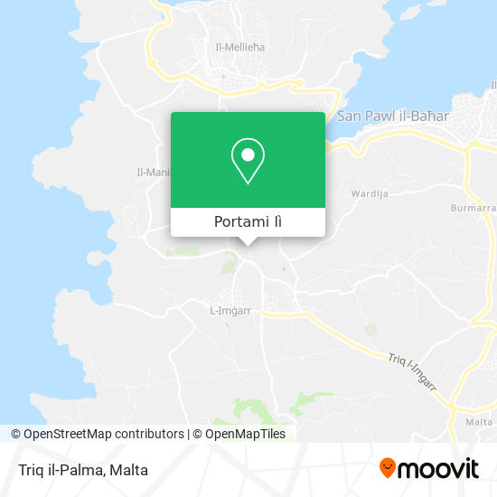 Mappa Triq il-Palma