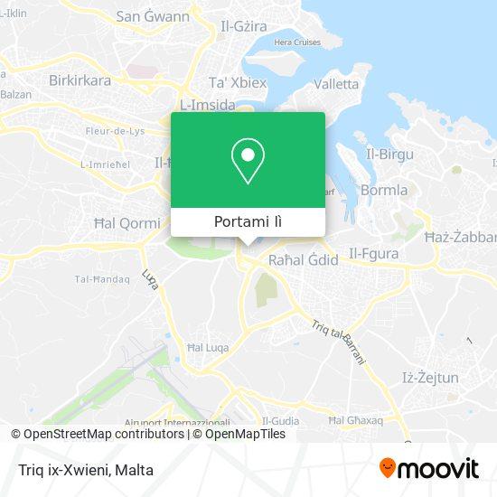 Mappa Triq ix-Xwieni