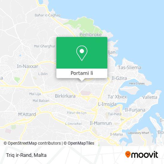 Mappa Triq ir-Rand