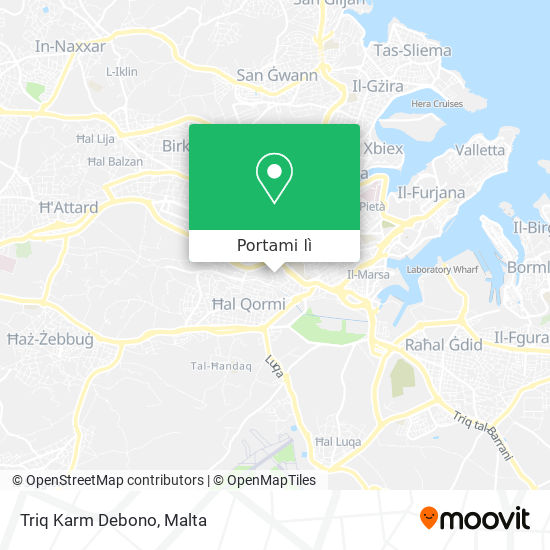 Mappa Triq Karm Debono