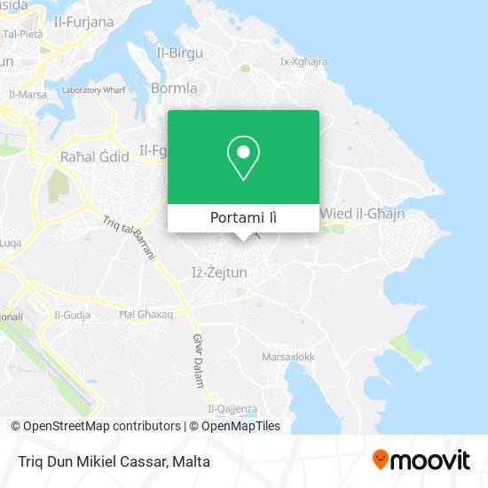 Mappa Triq Dun Mikiel Cassar