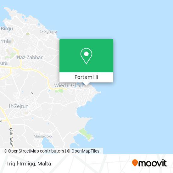 Mappa Triq l-Irmiġġ