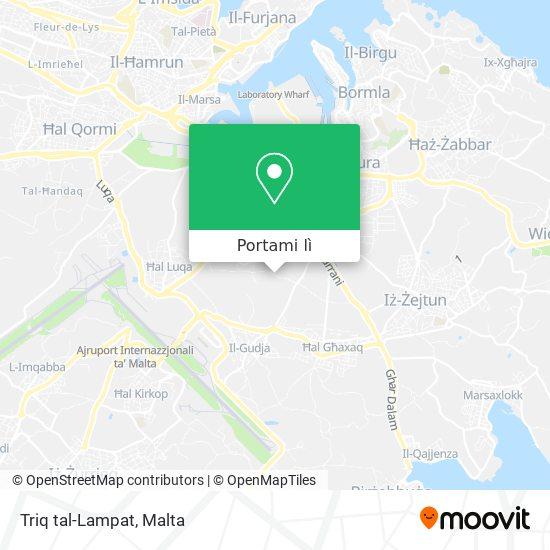 Mappa Triq tal-Lampat