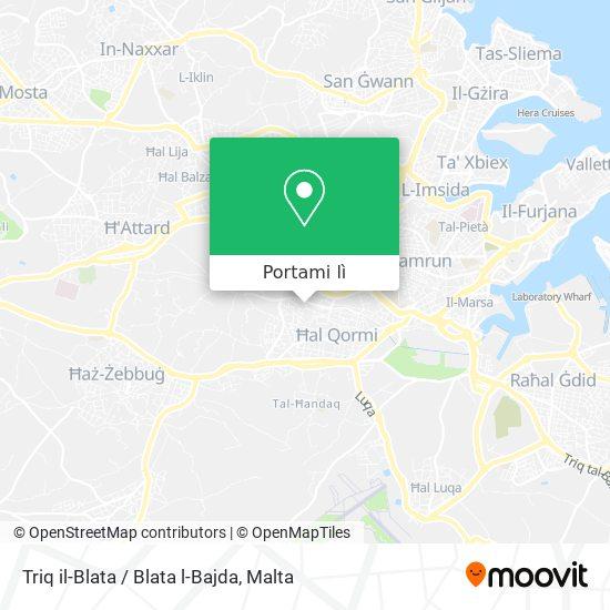 Mappa Triq il-Blata / Blata l-Bajda