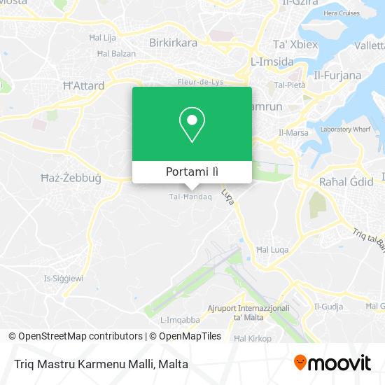 Mappa Triq Mastru Karmenu Malli