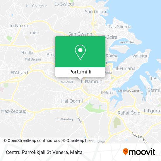 Mappa Centru Parrokkjali St Venera