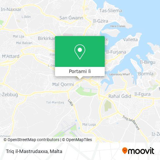 Mappa Triq il-Mastrudaxxa