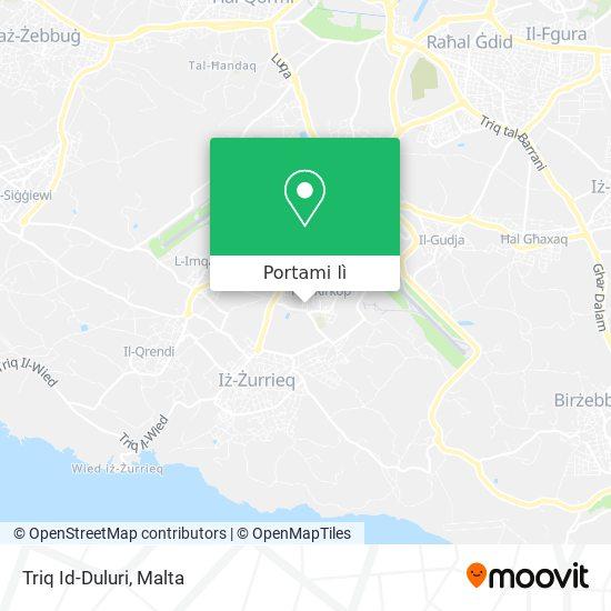 Mappa Triq Id-Duluri
