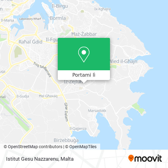 Mappa Istitut Gesu Nazzarenu