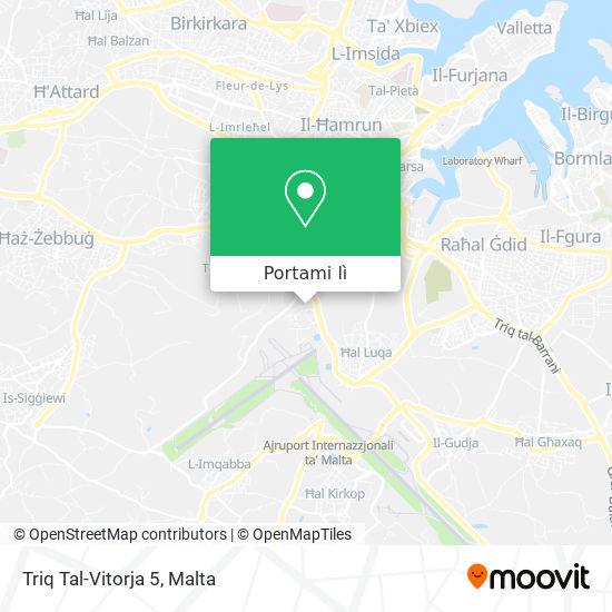 Mappa Triq Tal-Vitorja 5