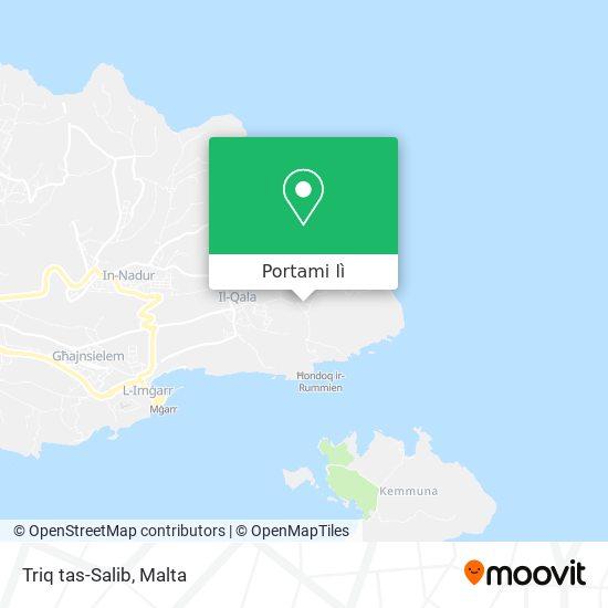 Mappa Triq tas-Salib