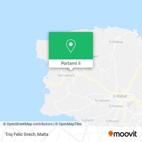 Mappa Triq Felic Grech