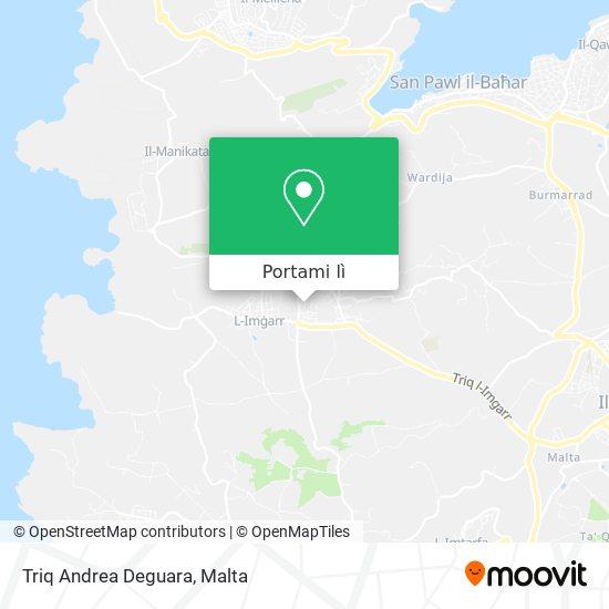 Mappa Triq Andrea Deguara