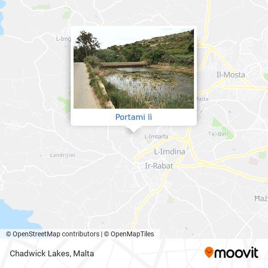 Mappa Chadwick Lakes