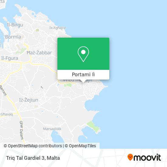 Mappa Triq Tal Gardiel 3