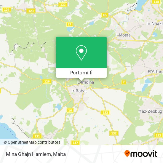 Mappa Mina Ghajn Hamiem
