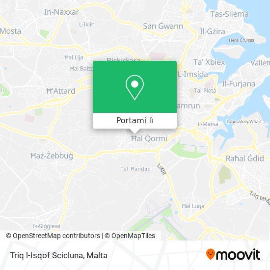 Mappa Triq l-Isqof Scicluna