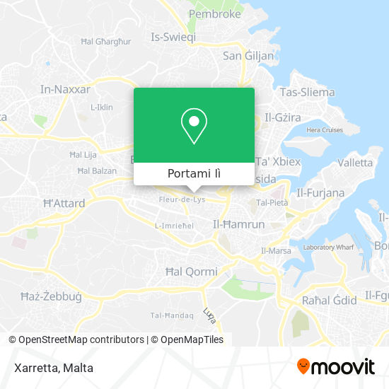 Mappa Xarretta