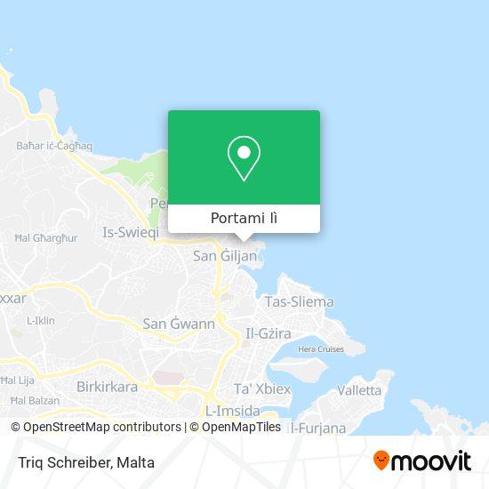 Mappa Triq Schreiber