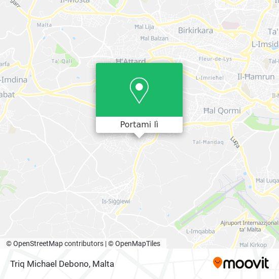 Mappa Triq Michael Debono