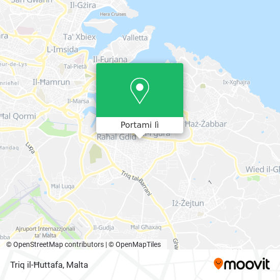 Mappa Triq il-Ħuttafa