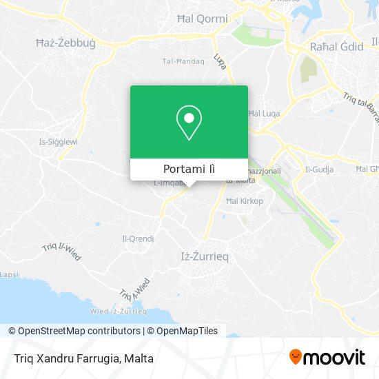 Mappa Triq Xandru Farrugia