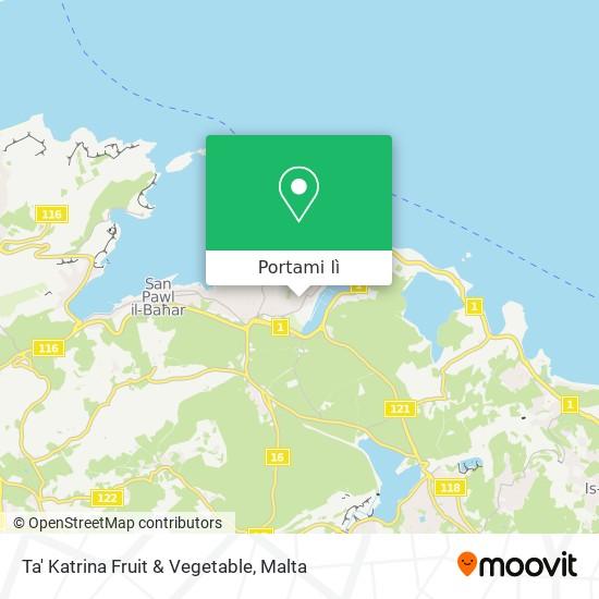 Mappa Ta' Katrina Fruit & Vegetable