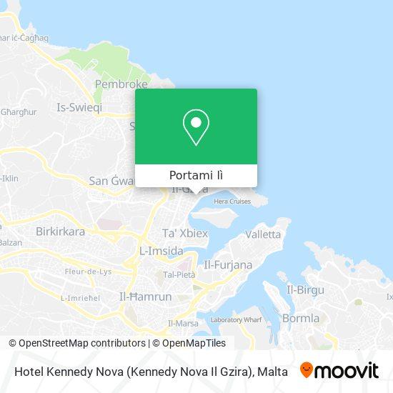 Mappa Hotel Kennedy Nova (Kennedy Nova Il Gzira)