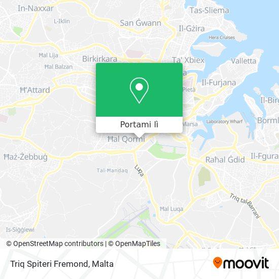 Mappa Triq Spiteri Fremond