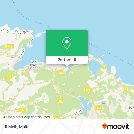 Mappa Il-Melh