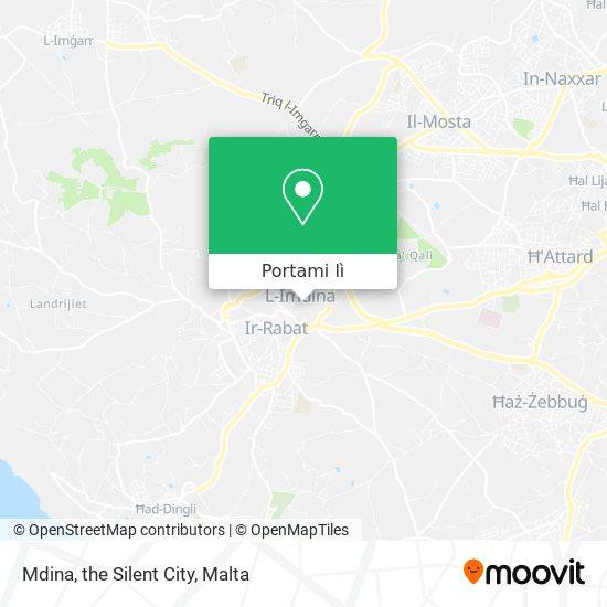Mappa Mdina, the Silent City